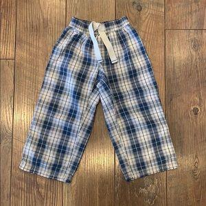 Old navy toddler boy pajama bottoms XS